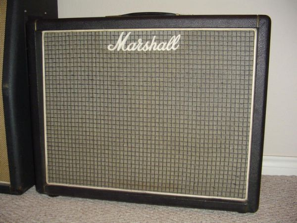 Marshall 2045 2x12 Extension Cabinet Vinyl Cover P N