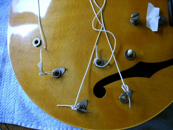 how do you change out pots and pickups on a 335? Gibson 335 Wiring Diagram up (outside of the body, for sure), make a template from cardboard that mirrors the position of your parts on the guitar so you will have all the wires gibson 335 wiring diagram