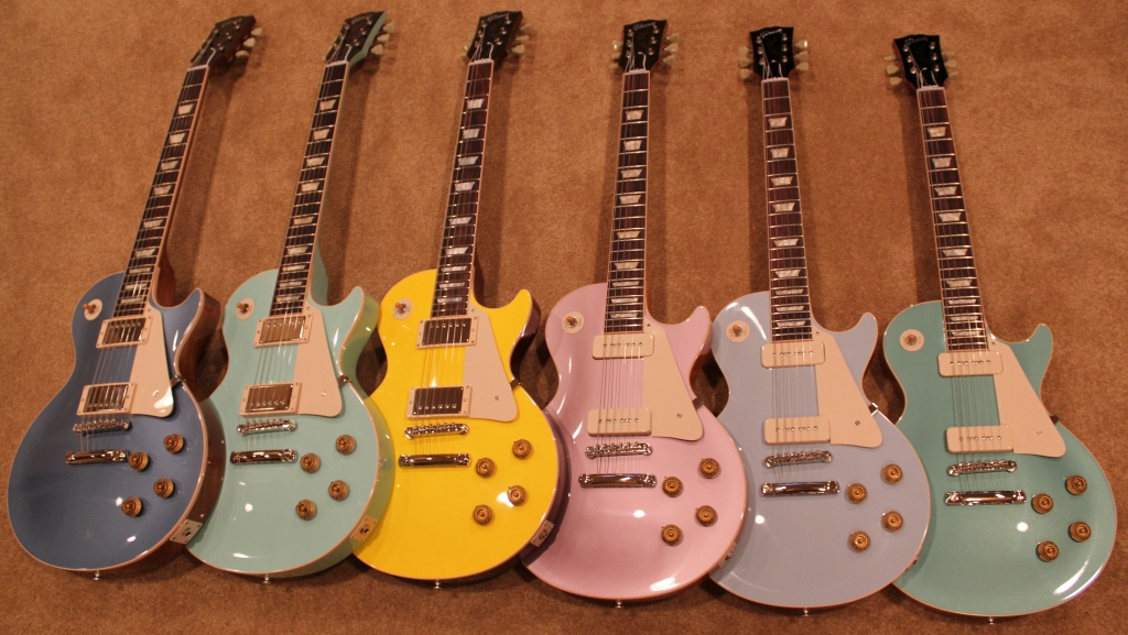 dating gibson les paul guitars Gibson serial number identification and dating   the older gibson guitars may have a serial  gibson custom 1952-1960 les paul,.