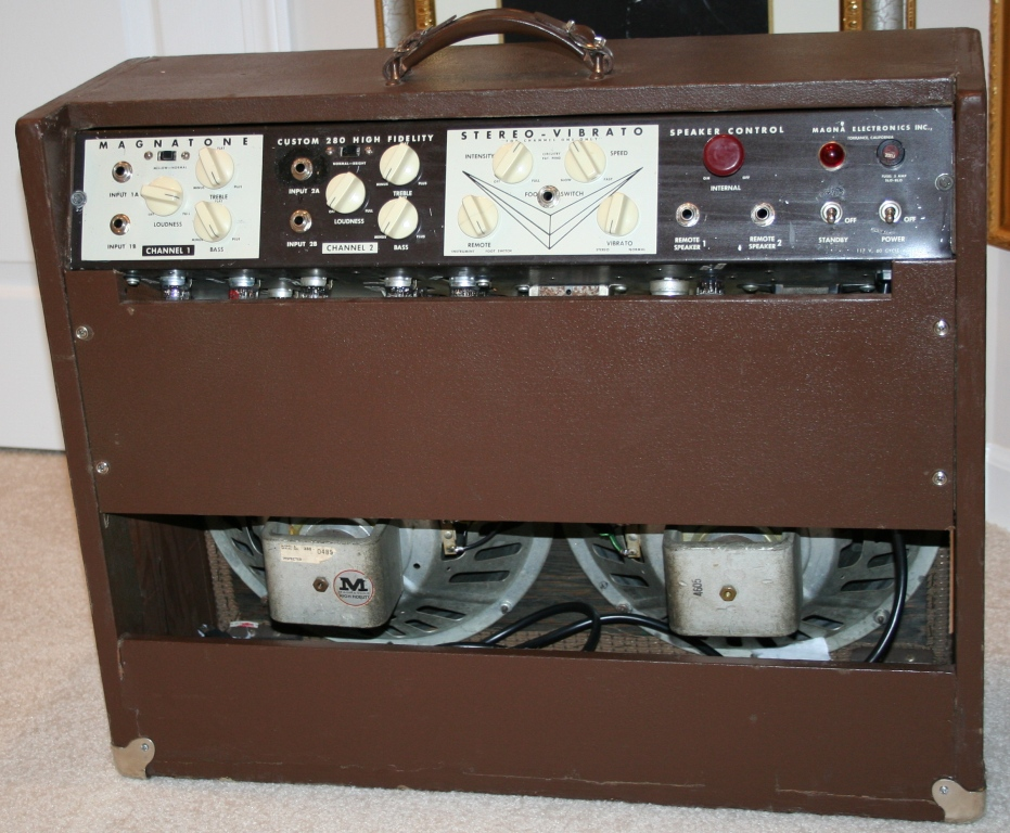 Just picked up an early Magnatone 213! on vintage stereo amplifier, airline amplifiers, vintage hi-fi tube, magnatone twilighter amplifiers, vintage 1950s wood speaker, vintage magnatone guitar, vintage marshall amp models, vintage magnatone m9, vintage amps 1960, magnatone trubador guitar amplifiers, 1960s guitar amplifiers, rare magnatone amplifiers, vintage magnatone troubadour,