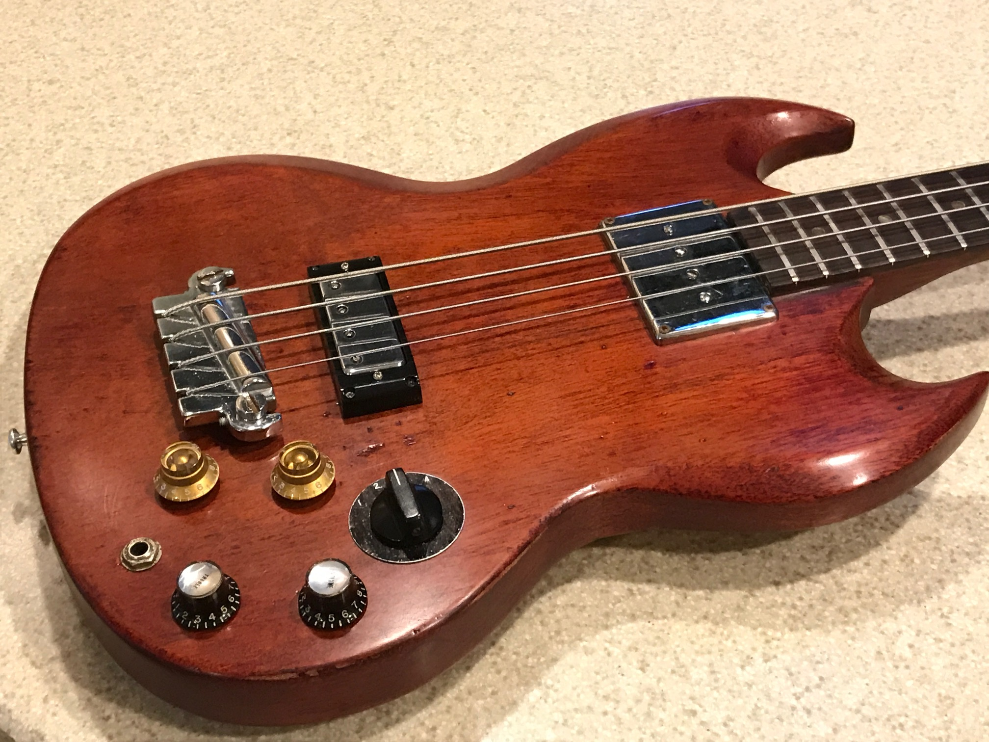 Show Your Modd 50s 60s 70s Guitars Basses And Amps Page 4 1981 Gibson Les Paul Wiring Harness So Its Somewhat Restored With A Refin Mishmosh Of Vintage Parts I Sourced From Ebay Reverb The Switch Choke Is Early