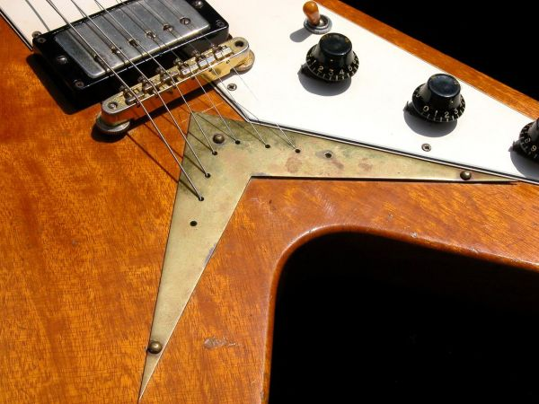 Anatomy of a gibson flying v