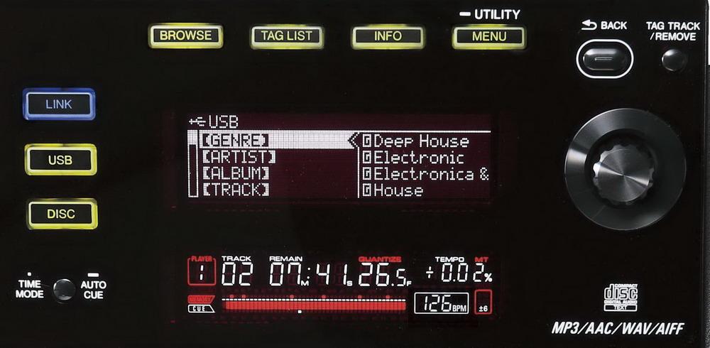 Đầu DJ Pioneer CDJ-900 Tabletop Multi Player