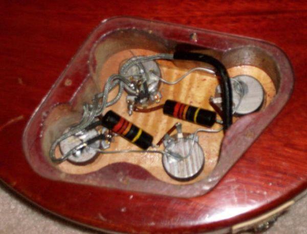 need help need 59 control cavity shots Les Paul Jr Wiring