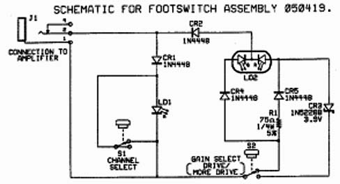 fender m 80 foot switch wiring diagram 2 pickup blend pot guitar fender m 80 foot switch wiring diagram hotrod deluxe footswitch problem
